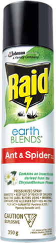 Raid® Earthblends™ Ant & Spider Bug Killer