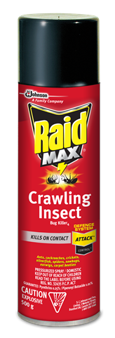 Raid Max® Crawling Insect Bug Killer