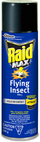 Raid MAX® Flying Insect Killer 2
