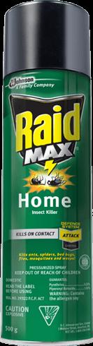 Raid Max 174 Home Insect Killer